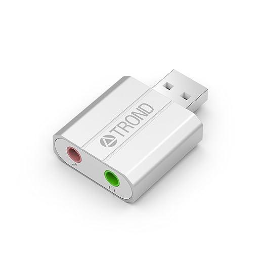 3 opinioni per TROND AC2-Adattatore Audio USB argento