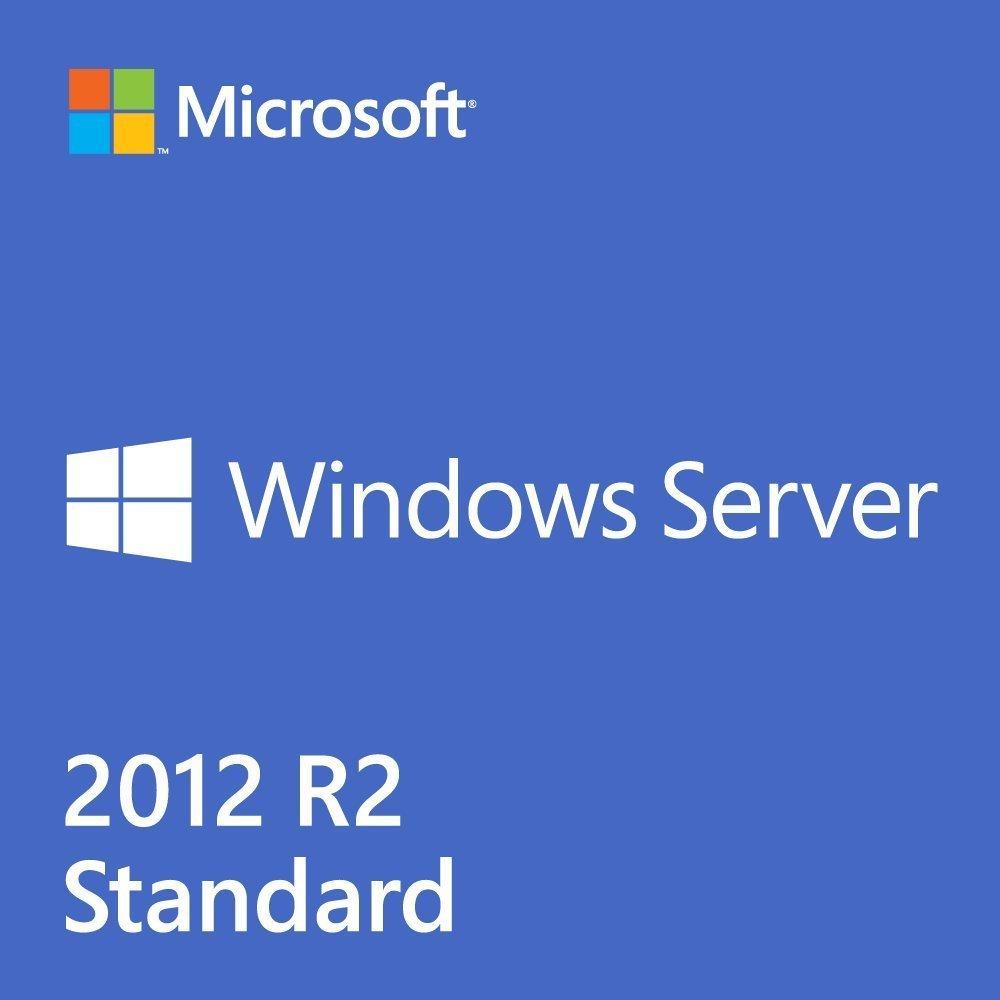 Windows Server 2012 R2 Standard - OEM (2CPU / 2VM) - Base License by M S