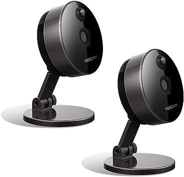 Opinión sobre Foscam C1 - 2 cámaras IP inalámbricas con ranura microSD, 1 megapíxel, smart, color negro