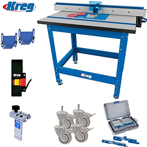Precision router table setup bars kreg prs1045 router table set keyboard keysfo Images
