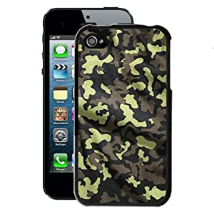 Military camouflage iPhone 4/4S Case (Black)