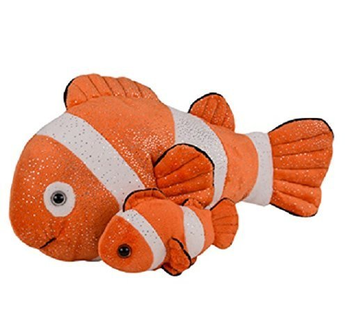 Adventure Planet Birth of LIfe Clown Fish and Baby Plush Toy 14