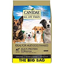 CANIDAE All Life Stages Dog Dry Food Chicken, Turkey, Lamb & Fish Meals Formula 44lbs