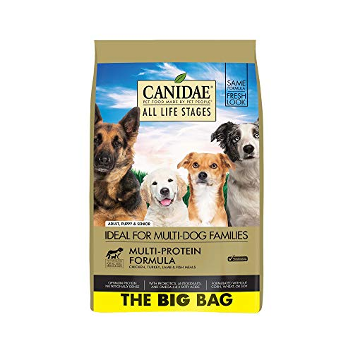 Canidae Fish Food - CANIDAE All Life Stages Dog Dry Food Chicken, Turkey, Lamb & Fish Meals Formula 44lbs