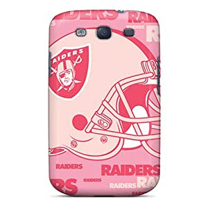 CharlesPoirier Samsung Galaxy S3 Bumper Hard Phone Case Customized Stylish Oakland Raiders Pattern [dkC27057VIos]