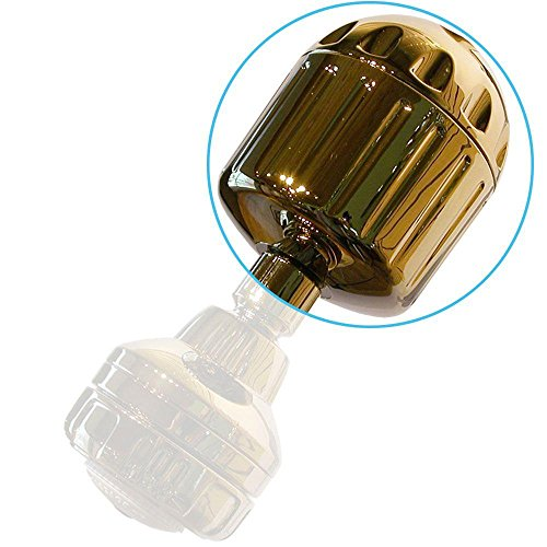 Sprite High Output 2 3-1/2 in. Shower Filter in Gold