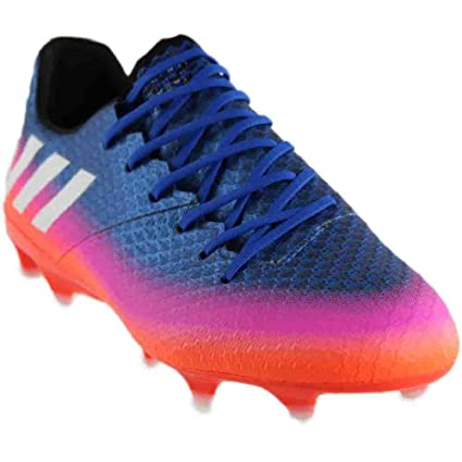 6a12478e718 Amazon.com  adidas Messi 16.1 Fg Blue White Orange Soccer Shoes ...