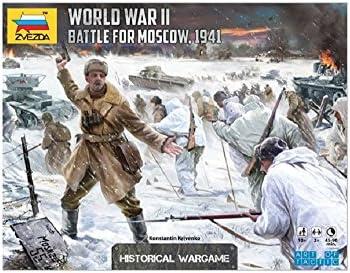 Zvezda Juego de Mesa - Batalla de Moscú (ATD) la Segunda Guerra Mundial - BX-A3-5-T48: aa.vv.: Amazon.es: Juguetes y juegos