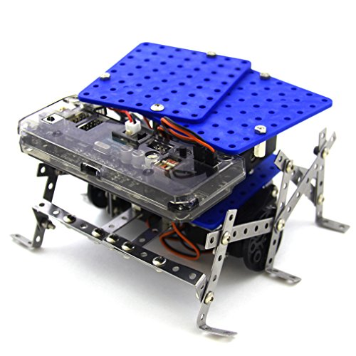 11 in 1 Programmable Robot Kit - STEM Learning Educational Robotics Kit for Beginner and Arduino Learners with Video Tutorials, Rokit Smart by Robolink by Robolink