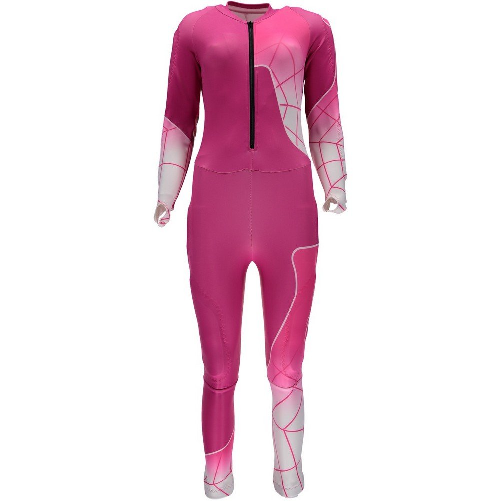 Spyder Nine Ninety Race Suit Women's Voila/White/Bryte Pink Medium