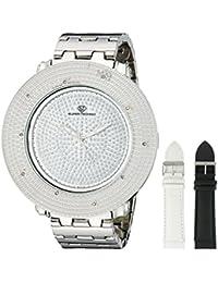 Super Techno Mens Diamond Watch (0.10 ct.tw.) - M6213