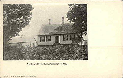 nordicas-birthplace-farmington-maine-original-vintage-postcard