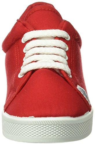 BEPPI Canvas 2135181, Zapatillas de Deporte para Mujer Rojo (Red)