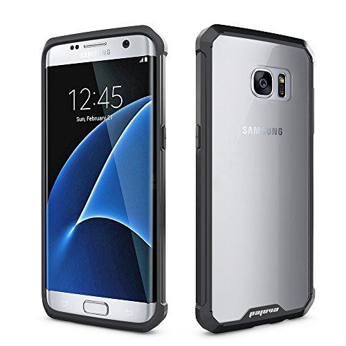 Pajuva Samsung Galaxy S7 Edge Case Clear
