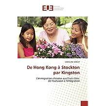 DE HONG KONG A STOCKTON PAR KINGSTON