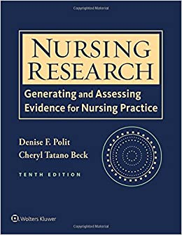 Nursing Research Generating And Assessing Evidence For Practice Denise F Polit PhD Faan Cheryl Tatano Beck Dnsc Cnm 1213111211145