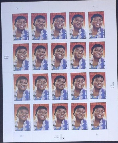 Collectible USA Postage Stamps 2006: Black Heritage Series: Actress Hattie McDaniel MNH Sheet Scott ()