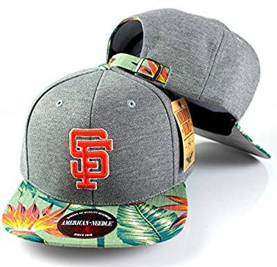 MLB American Needle Limited Edition Palm Floral Pattern Adjustable Hat