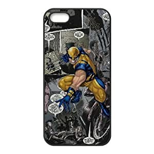 iPhone 5 5s Cell Phone Case Black Marvel comic Xqyz