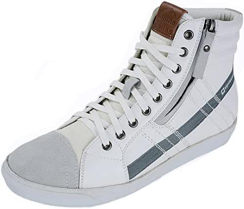 Alpine Swiss Men's Reto Canvas and High Top Sneakers