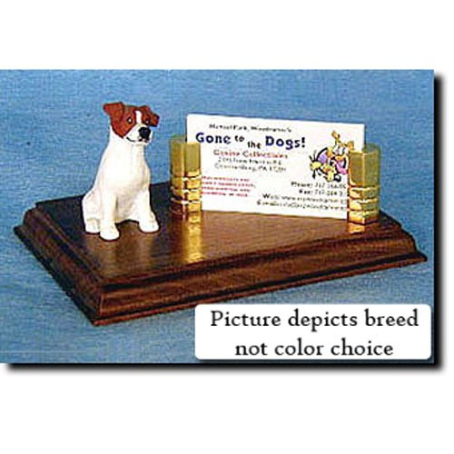 Parson Russell Terrier Figurine (Parson Russell Terrier (Tri) Business Card Holder)