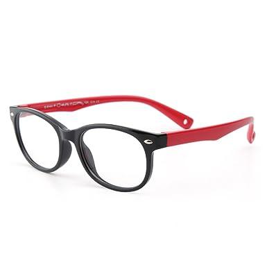 40c5909863 Children s Silicone Glasses Forepin® Flexible Kids Eyeglasses Frame with  Eyeglass Strap for Boys Girls -