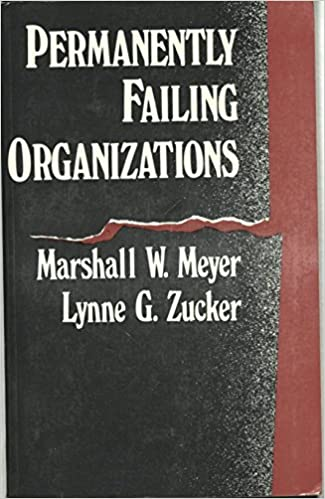 Book Permanently Failing Organizations