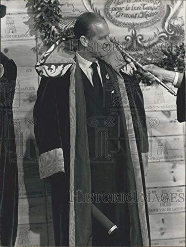 - Historic Images - 1974 Vintage Press Photo Duke of Edinburgh Named Leader of French Wine Fraternity