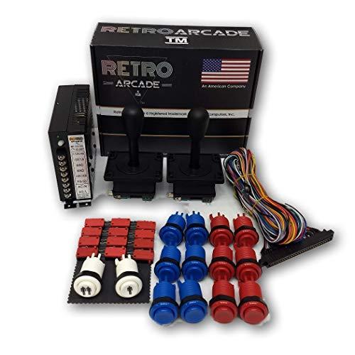 RetroArcade us ra-750-in-1-kit-hh Jamma 750-in-1, mame, Retro pi Classic  Arcade multigame-multicade Arcade Cocktail Game Control kit