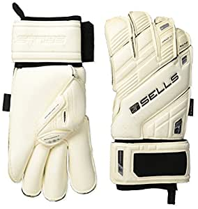 Sells Goalkeeper Products Wrap Elite Exosphere Goalkeeper Gloves, White, 8