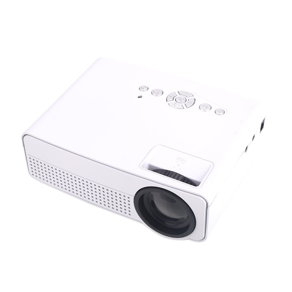 Duoying LED Projector (2018 Upgraded), Theater proyector HD 1080P, Ideal para Home Multimedia Theater Upgraded), Theater. 9cc118