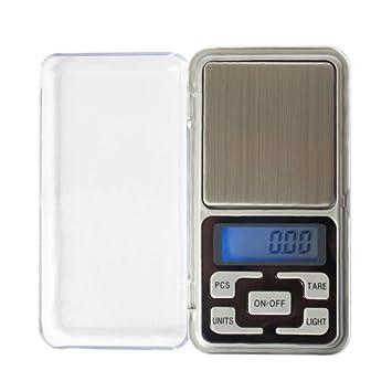 ZHANGYUGE Mini Digital de Bolsillo de precisión electrónico LCD Escalas Escala de Joyas de Diamantes de