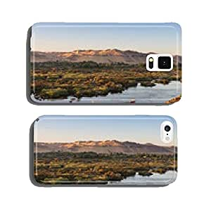 Life on River Nile, Aswan, Egypt cell phone cover case Samsung S5