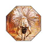 LiFei Business Girl in the Dance Ballet UV men's and women's umbrella Custom Umbrella Senior Custom