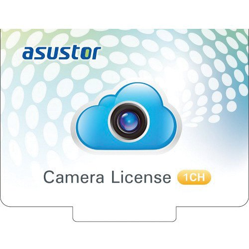 Asustor 1-Channel Camera License by Asustor