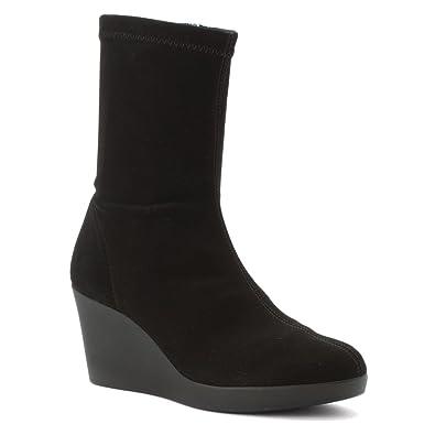 Rapisardi Womens Black Boot Boots A157