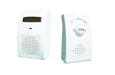 Elro Wireless Chime.Elro Db33 Pir Sensor Alarm Kit Amazon Co Uk Diy Tools
