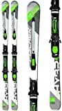 Fischer Hybrid 7.5 TI Powerrail Skis w/RSX 12 Powerrail Bindings Mens Sz 175cm