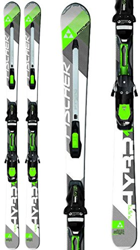 Fischer Hybrid 7.5 TI Powerrail Skis w/ RSX 12 Powerrail Bindings Mens Sz 175cm