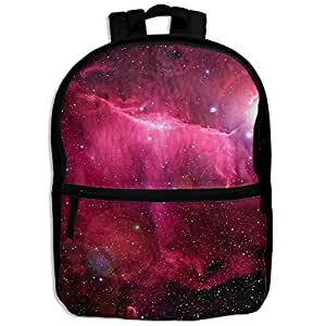 Galaxy Space Star Cute Pattern Printing Shoulders Kid' Bag For Child School Kindergarten Backpacks With Zipper