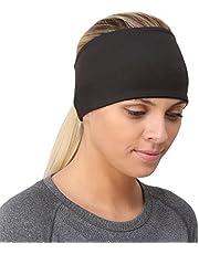 TrailHeads Ponytail Headband - Adrenaline Series   Women's Running Headband with Reflective Accents