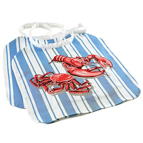 Norpro Cotton Seafood Lobster Bibs, Set of 2 by Norpro