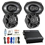 Car Speaker And Amp Combo: 4x Kicker 43CSC6934...
