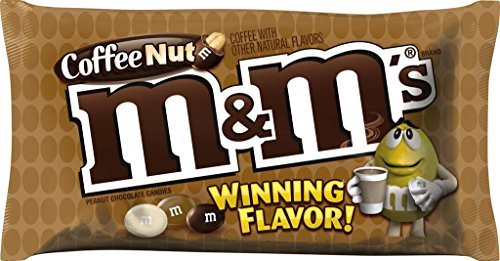 M&M'S Coffee Nut Peanut Chocolate Candy WINNING Flavor 10.20 Ounce Bag, Pack of 6]()