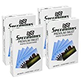 Speedy Inks - 4PK Glossy Inkjet Photo Sticker Paper 8.5X11 100 pack