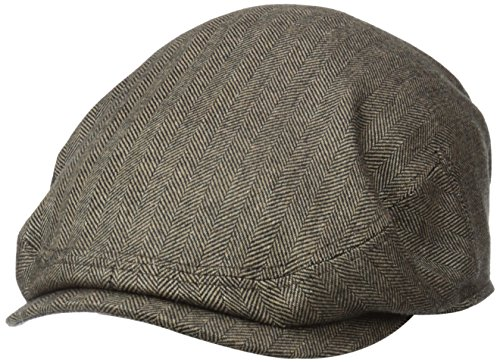 Stetson Men's Cashmere Blend Ivy Cap with Silk Lining, Brown, XX-Large ()