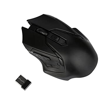 Ratón de Juego Ratones 2.4 GHz 3200DPI Portátil Inalámbrico Óptico Gaming Mouse Ratones para PC Ordenador portátil Escritorio Computadora Cuaderno Tableta ...
