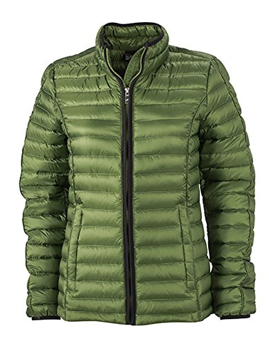 J+N - Chaqueta - para mujer Jungle-Green-Black