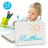 Minted Promos  Dry Erase Student Lap White Board, 9 X12 -Inches,12-Pack,