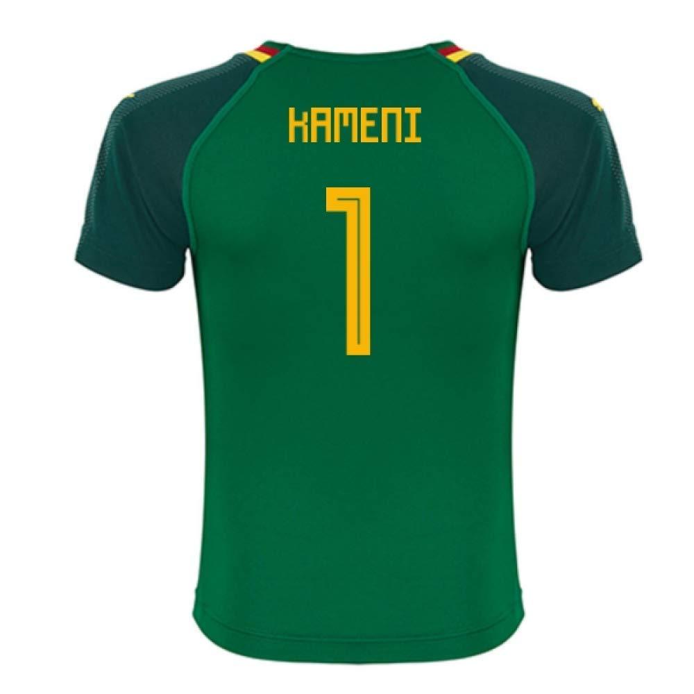 2018-19 Cameroon Home Football Soccer T-Shirt Trikot (Carlos Kameni 1)